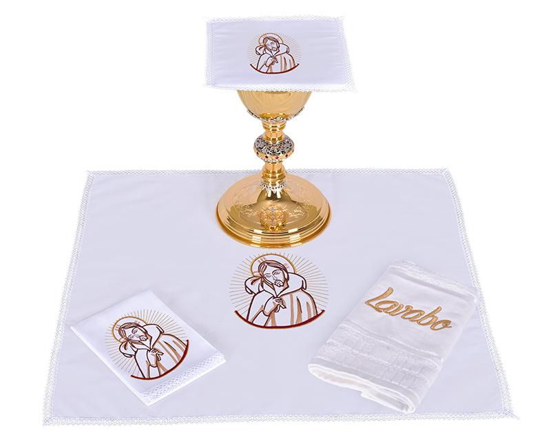 Conjunto de Altar Algodão Bom Pastor CA105