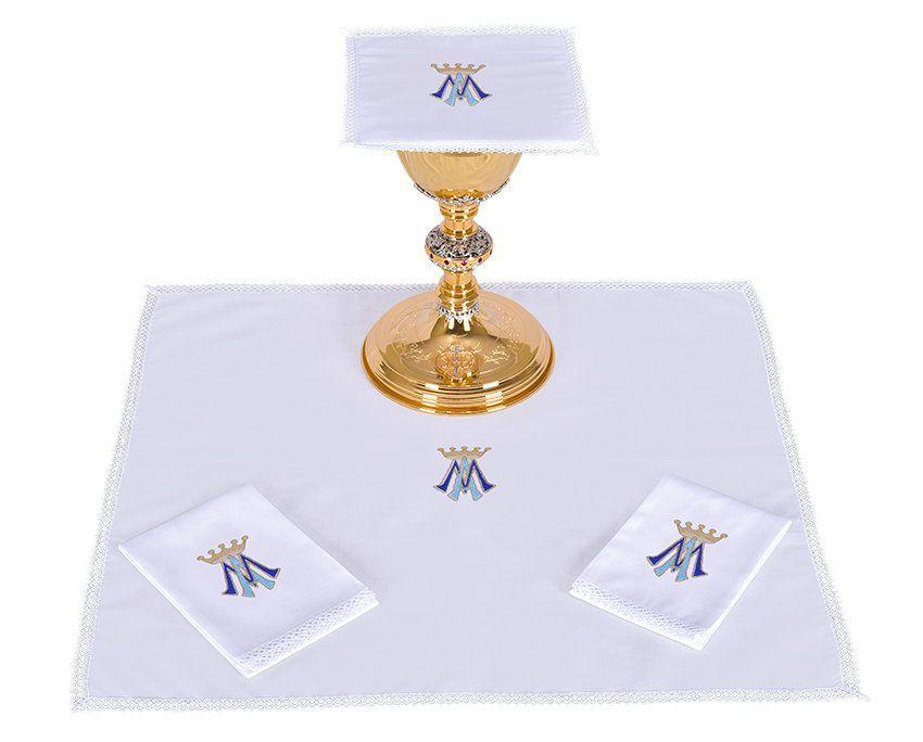 Conjunto de Altar Algodão Mariano B001