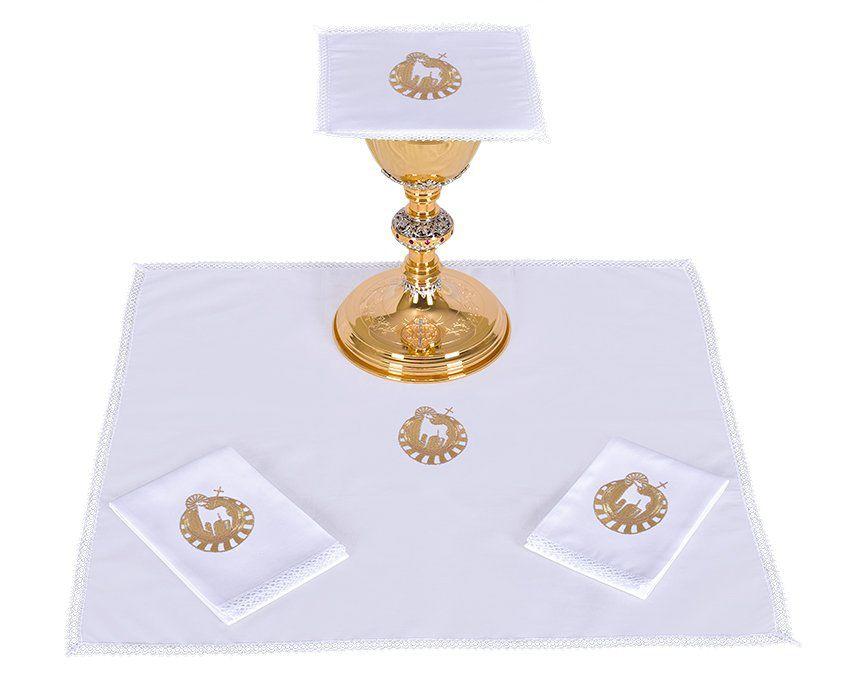 Conjunto de Altar Algodão Cordeiro B014