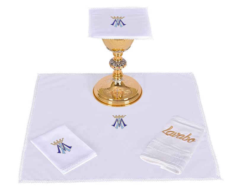 Conjunto de Altar Algodão Mariano CA113