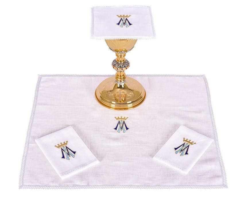 Conjunto de Altar Linho Mariano B001