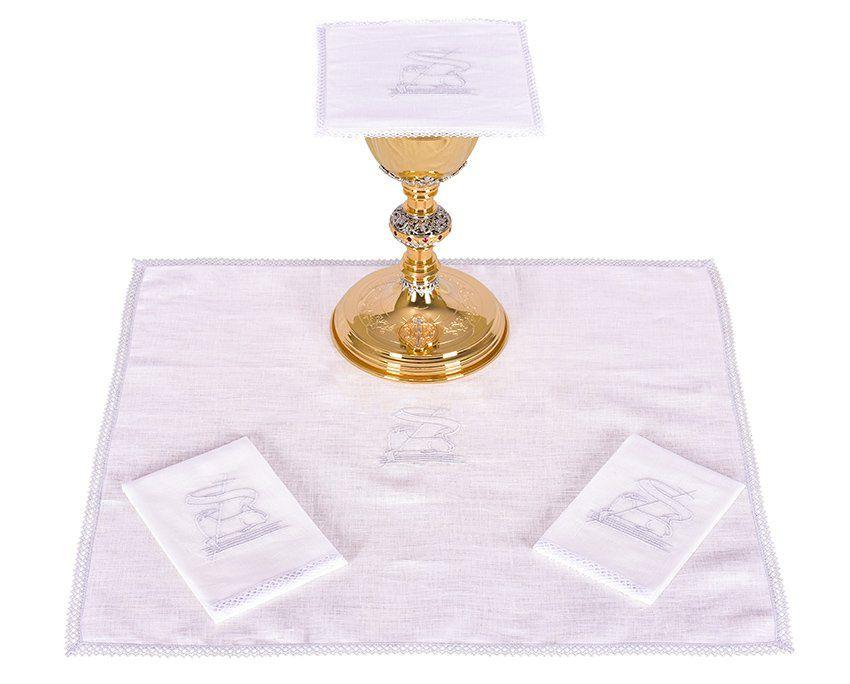 Conjunto de Altar Linho Cordeiro B008