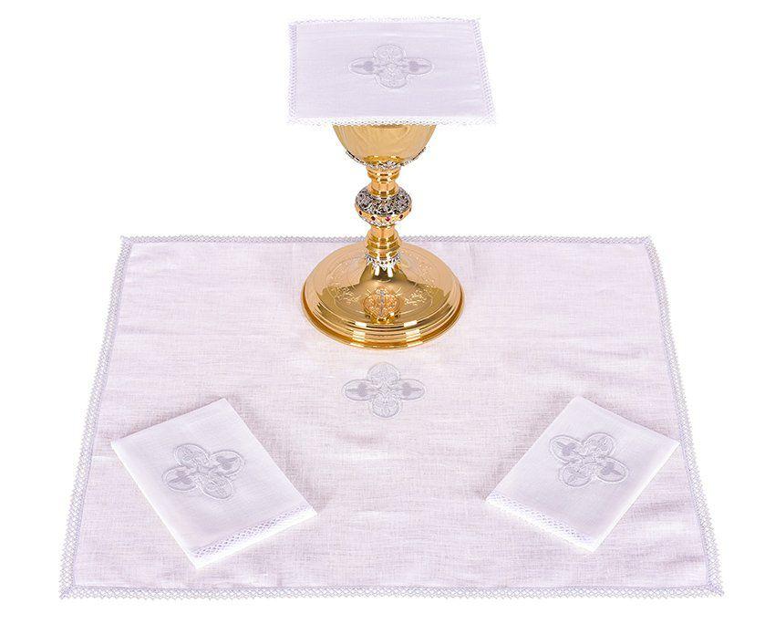 Conjunto de Altar Linho Cruz Gótica B012