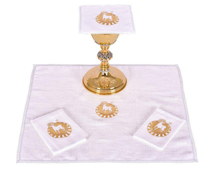 Conjunto de Altar Linho Cordeiro B014