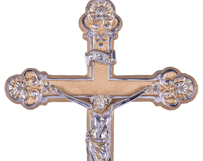 Conjunto de Cruz e Tocheiros Alumínio