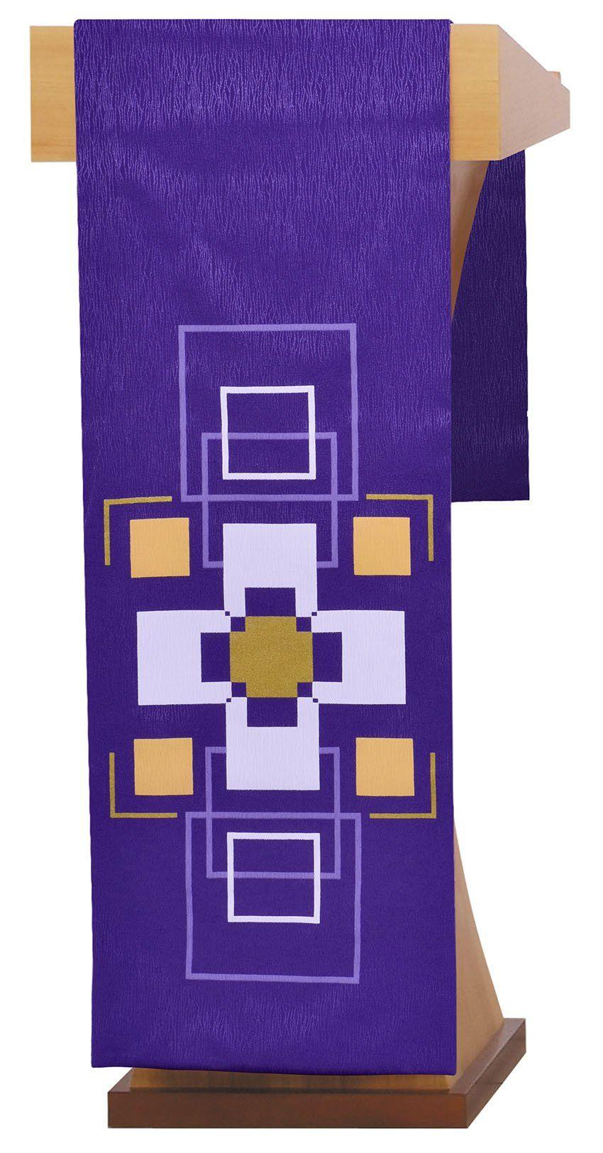 Conjunto Véu de Altar e Estante Cruz S196 S197