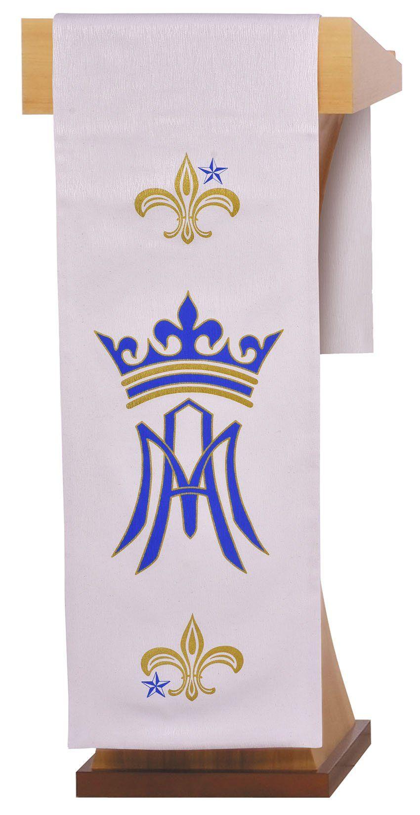 Conjunto Véu de Altar e Estante Santa Maria S204 S205