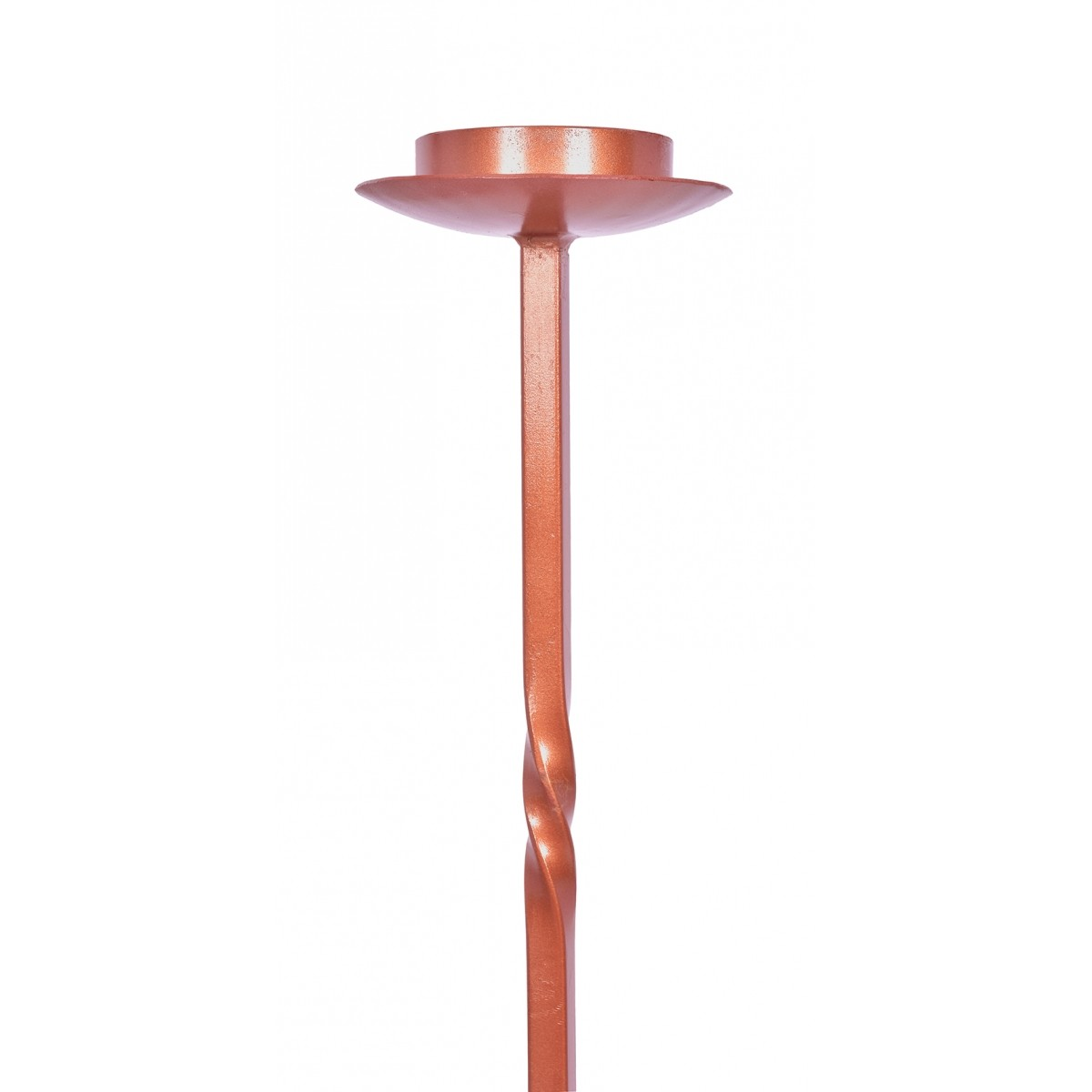 Coroa do Advento Ferro Bronze 108 x 42 cm