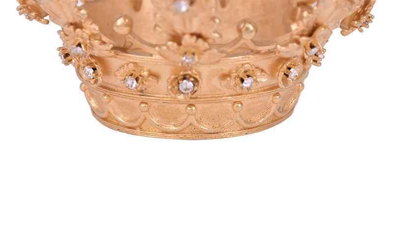 Coroa Nossa Senhora Aparecida 10cm 8231