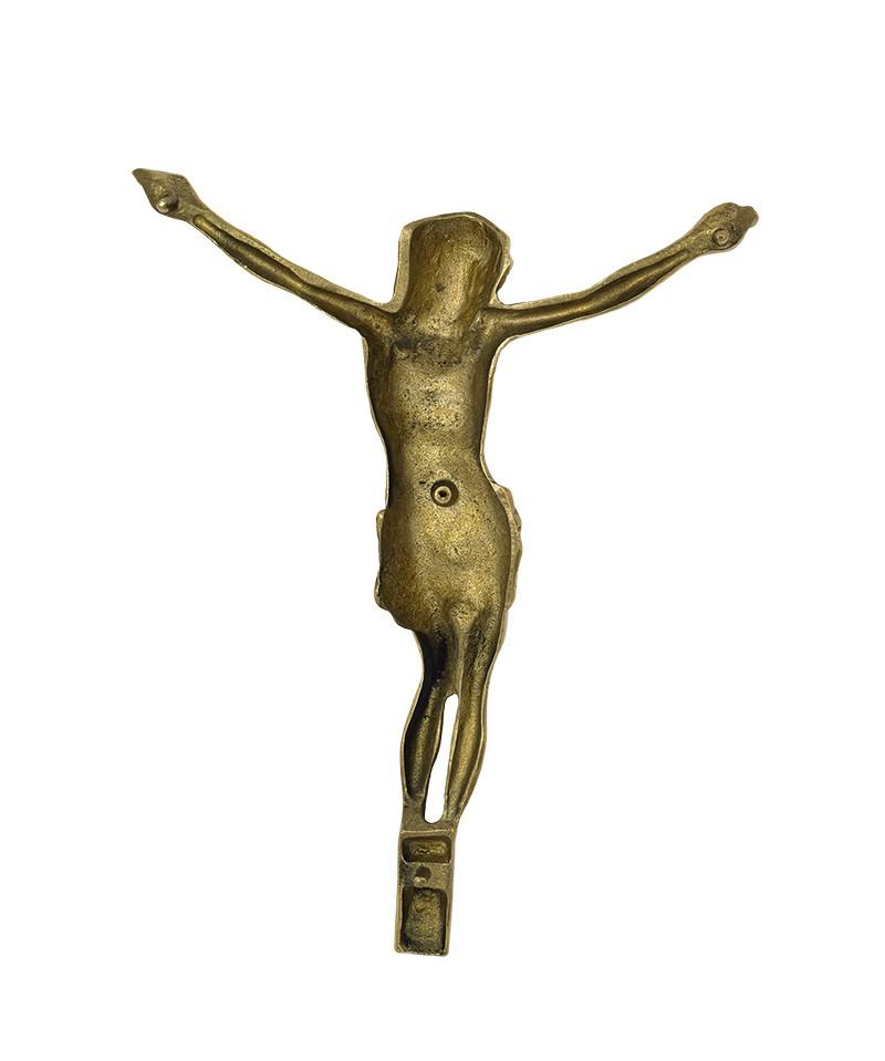 Cristo Para Túmulos Dourado 31 cm
