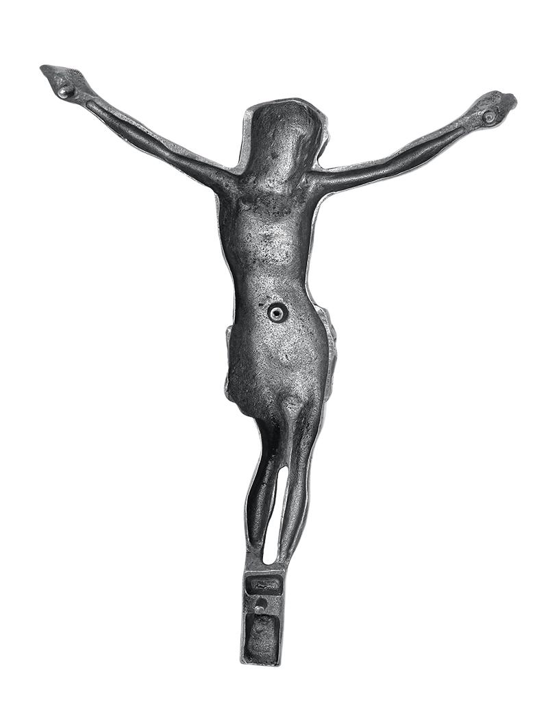 Cristo Para Túmulos Cromado 31 cm
