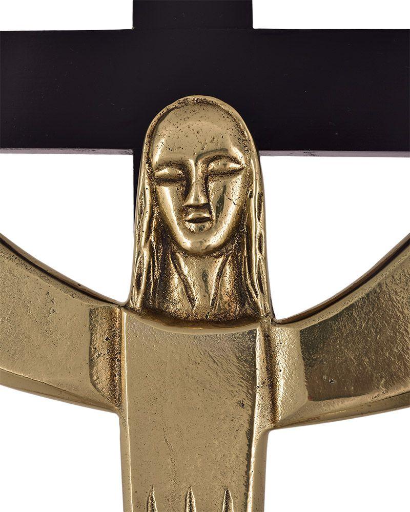 Crucifixo de Parede Bronze 8244 82cm