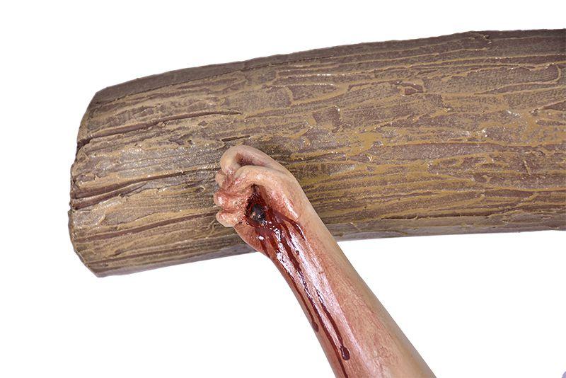 Crucifixo de Parede Fibra 84cm