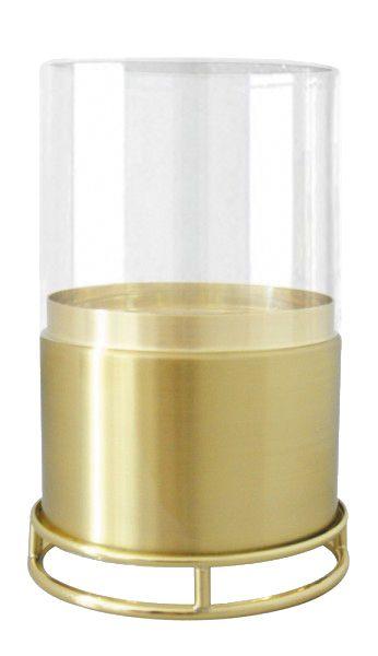 Economizador de Velas com Vidro 80mm Dourado