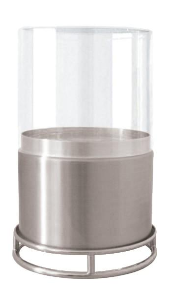 Economizador de Velas com Vidro 80mm Niquelado