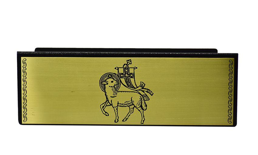 Estante de Altar Cordeiro Dourada MOD1