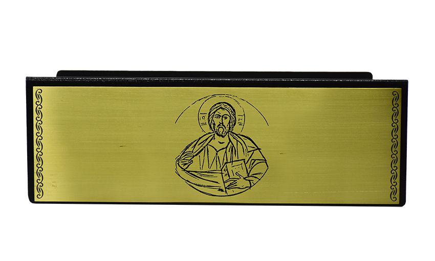 Estante de Altar Cristo Dourada MOD2