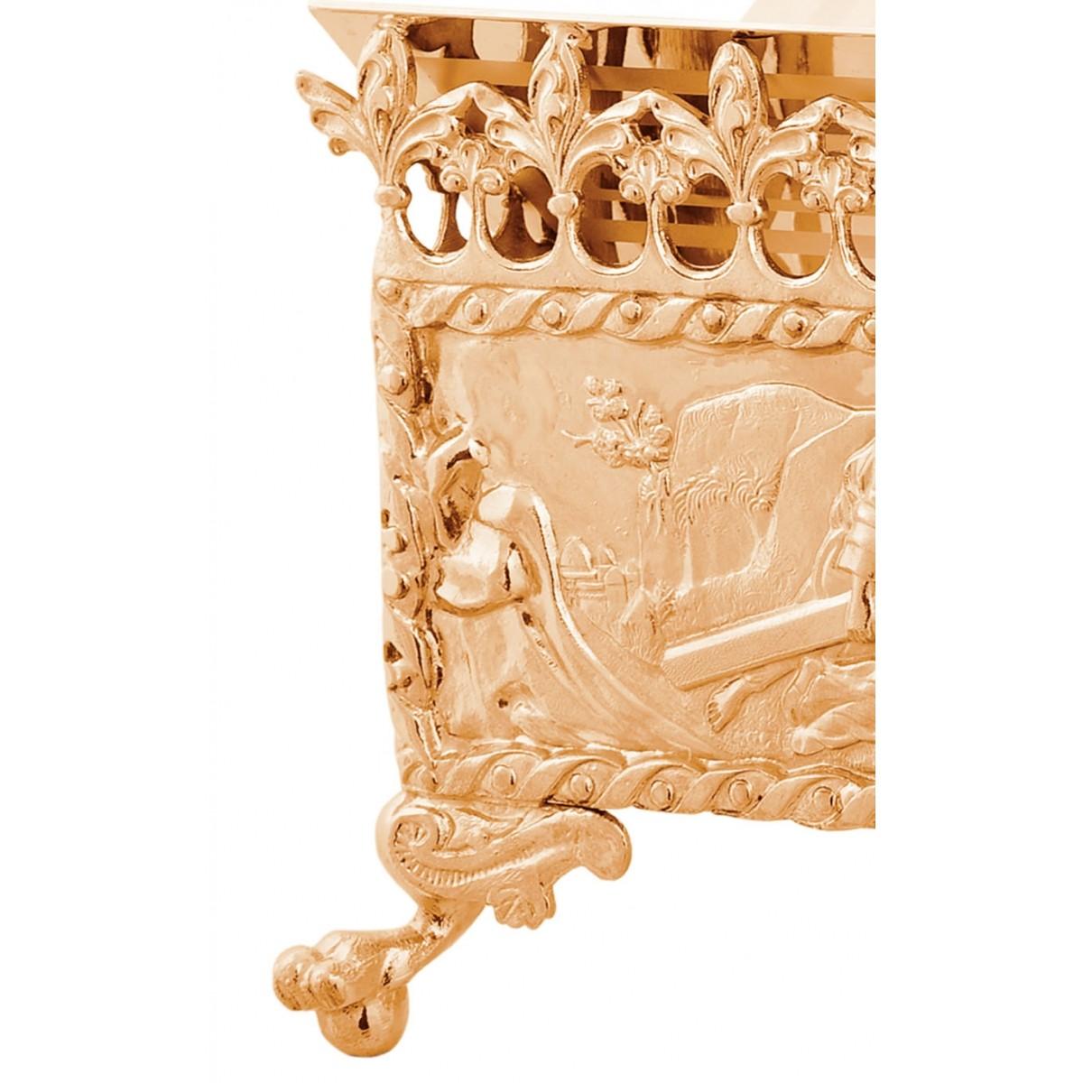 Estante de Altar Dourada P55