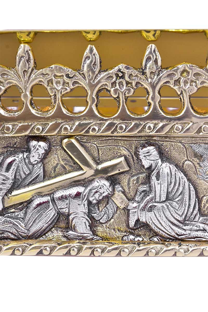 Estante de Altar Metal Via-Sacra 3905