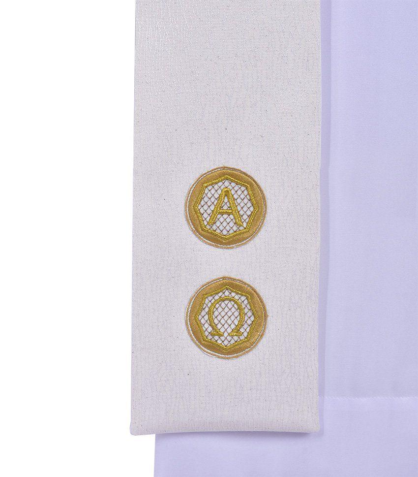 Estola Diaconal Alfa e Ômega ED450