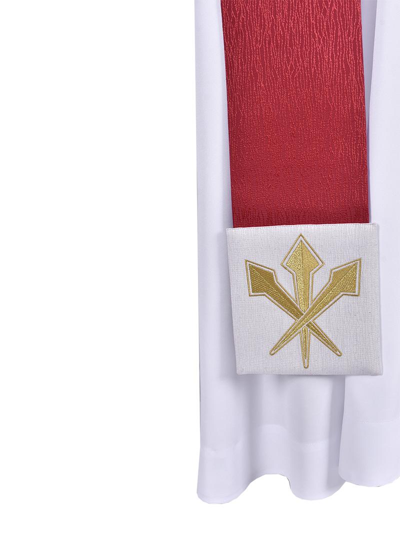 Estola Diaconal Capa de Asperges Cristo Rei ED915