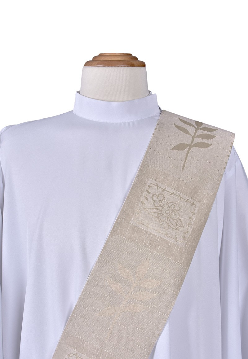 Estola Diaconal Capa de Asperges Santa Maria ED909
