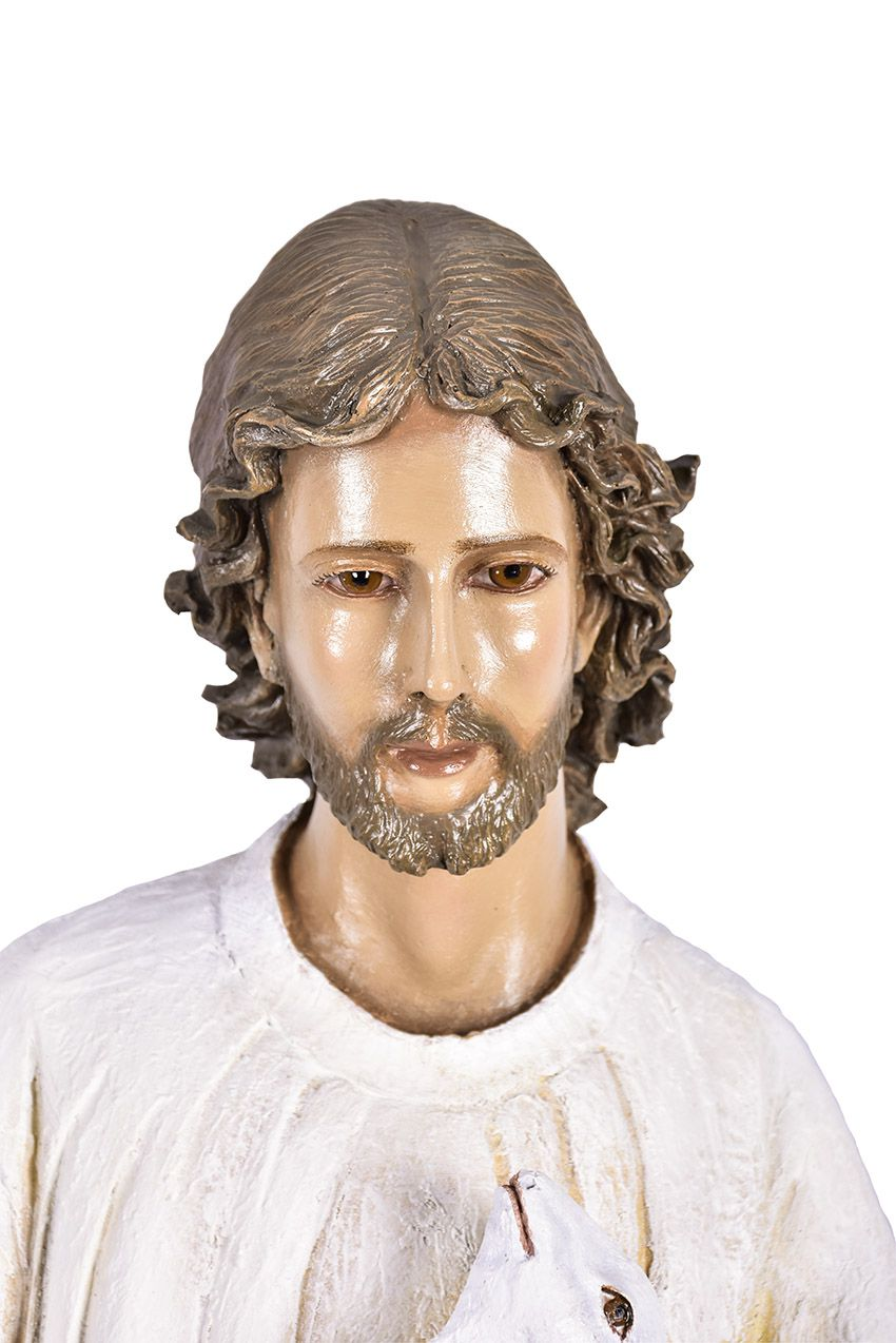 Imagem Bom Pastor Fibra 100 cm