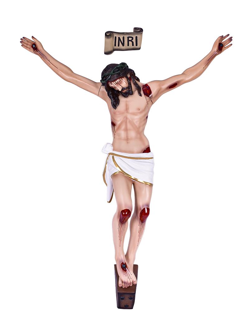 Imagem Corpo Crucificado Resina 120 cm