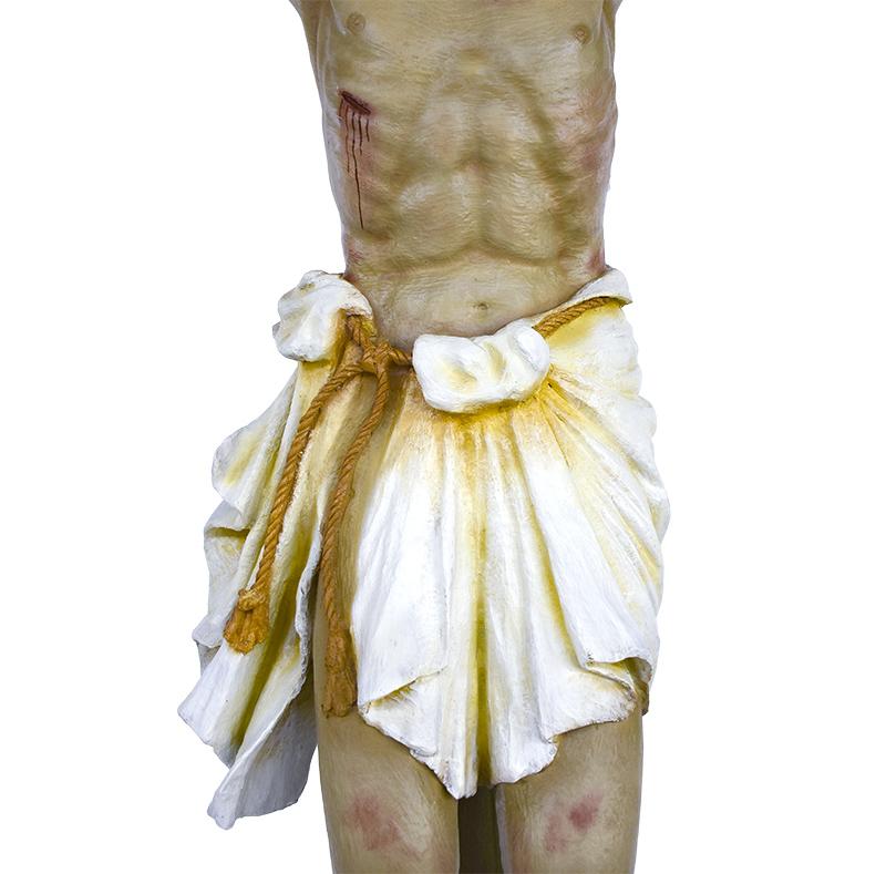 Imagem Cristo Crucificado Fibra 330cm