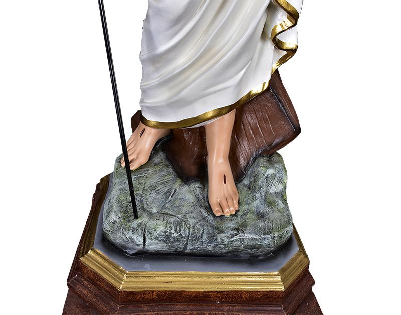 Imagem Cristo Ressuscitado com Base Resina 110 cm