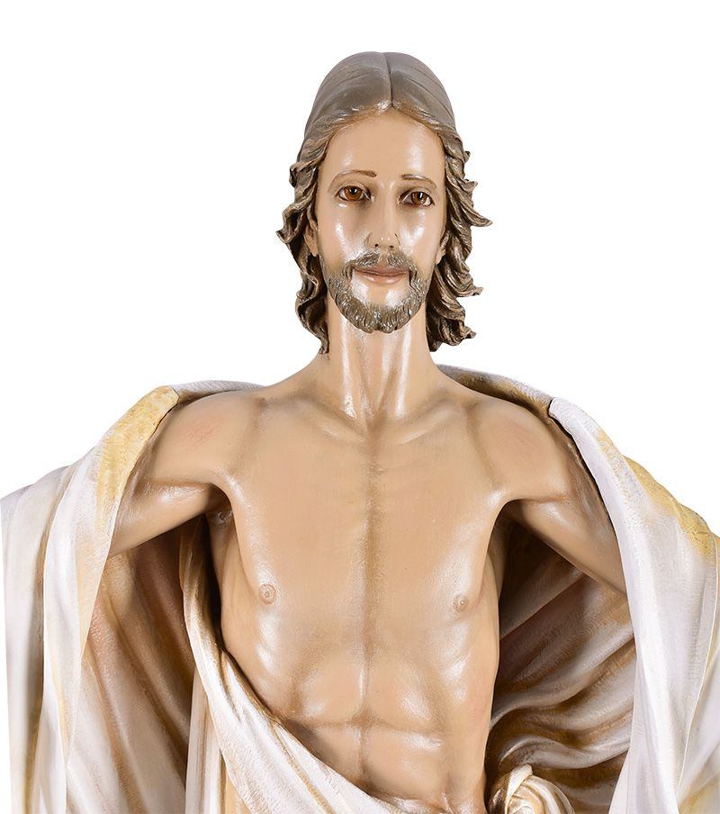 Imagem Cristo Ressuscitado Fibra 160cm