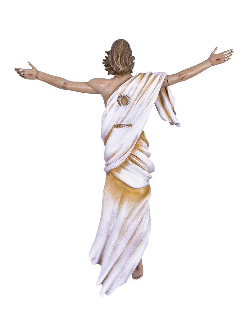 Imagem Cristo Ressuscitado Fibra 60 cm