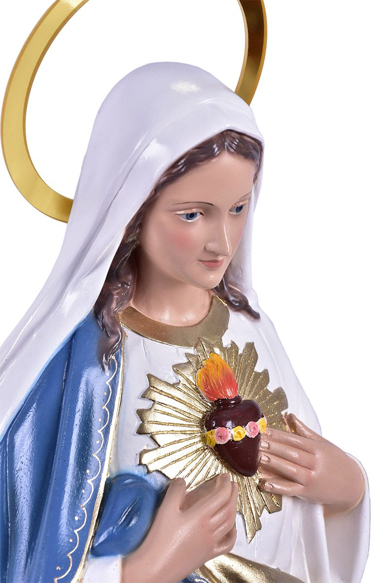 Imagem Imaculado Coração de Maria Durata 50cm