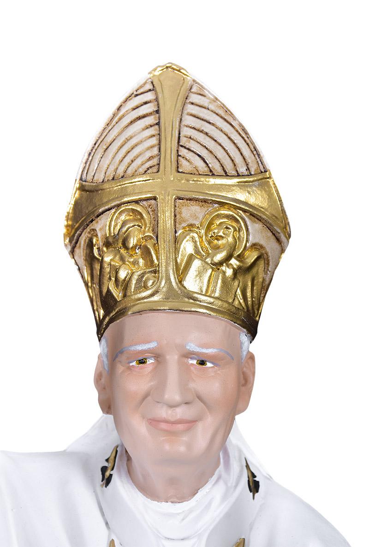 Imagem João Paulo II Resina 60 cm
