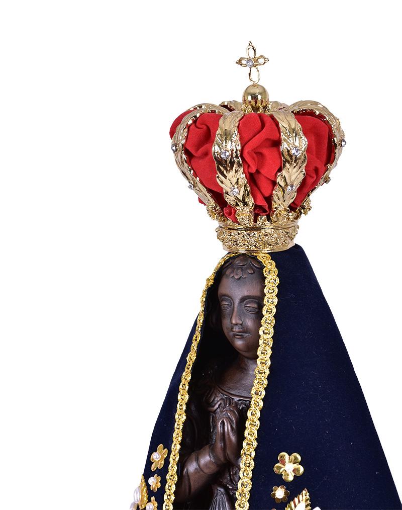 Imagem Nossa Senhora Aparecida Facsimile Resina 45 cm