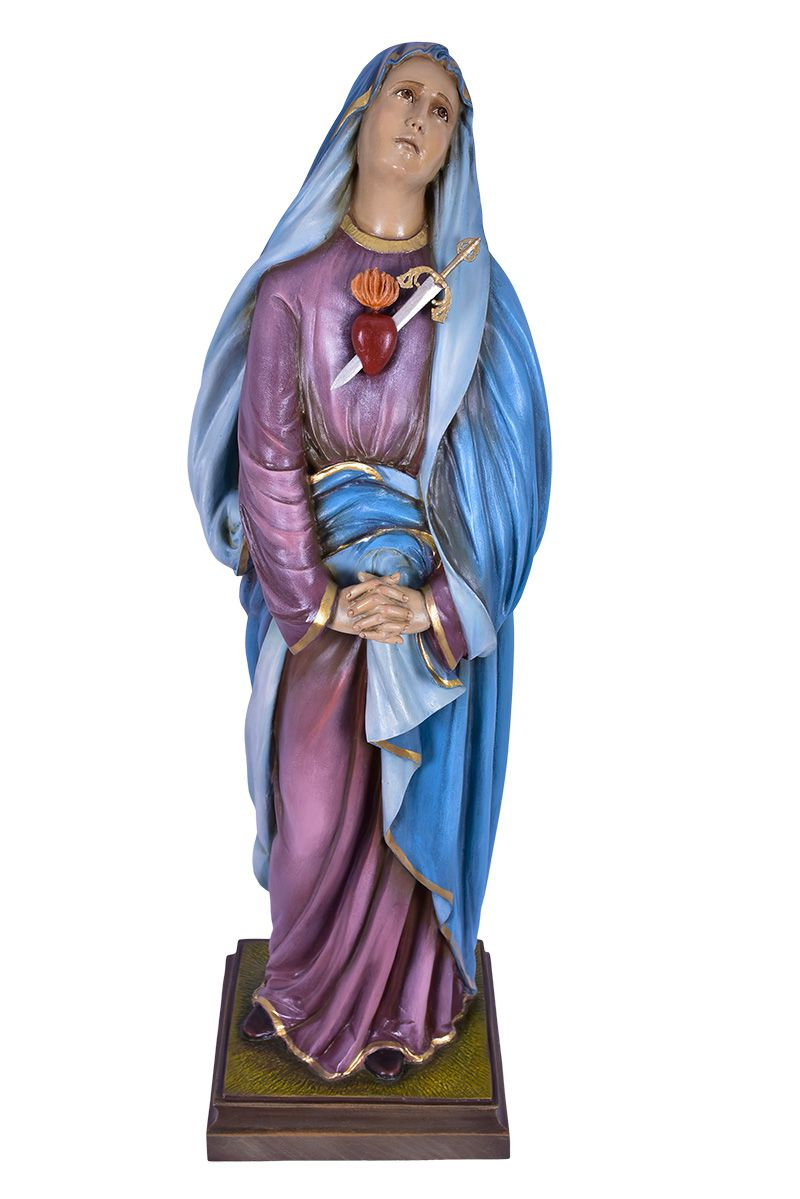 Imagem Nossa Senhora das Dores Fibra 110 cm
