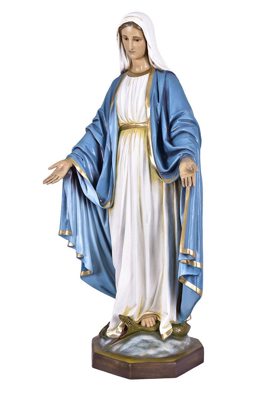 Imagem Nossa Senhora das Graças Fibra 130 cm