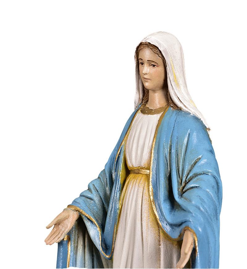 Imagem Nossa Senhora das Graças Fibra 35 cm
