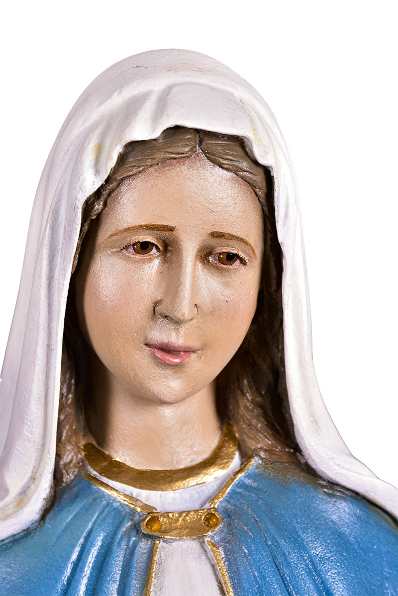 Imagem Nossa Senhora das Graças Fibra 70 cm