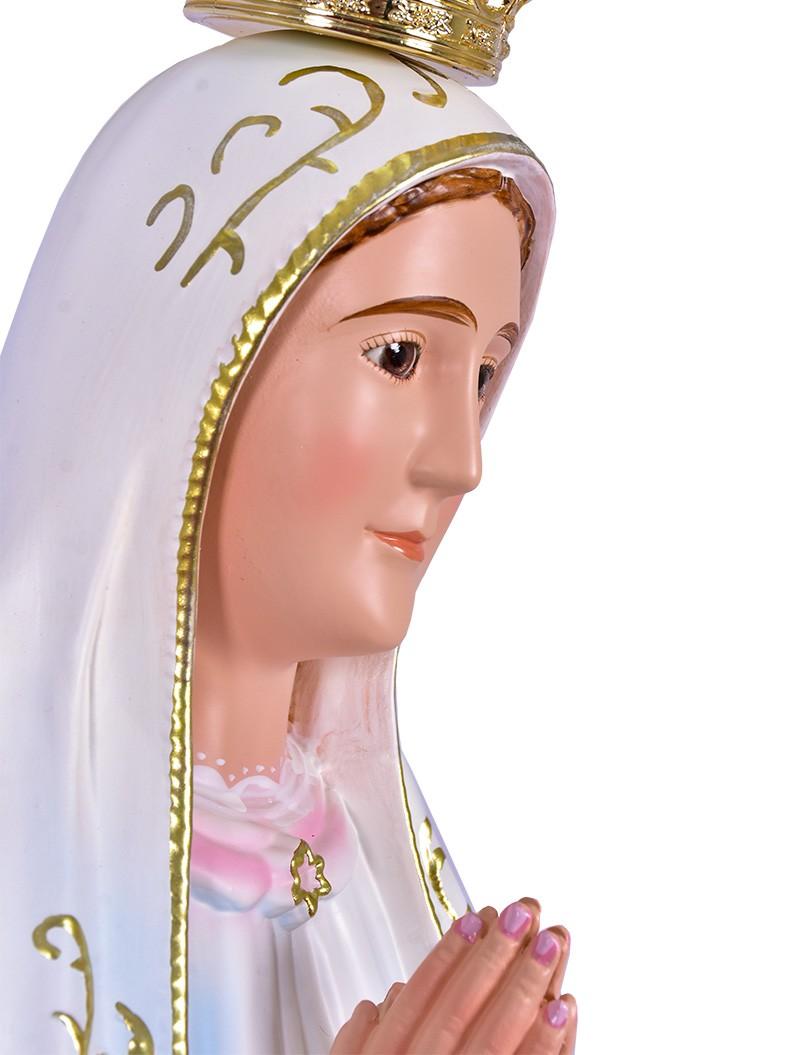 Imagem Nossa Senhora de Fátima Fibra 100cm