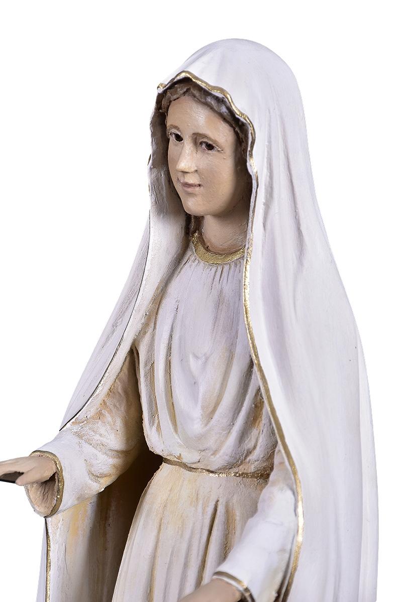 Imagem Nossa Senhora de Fátima Fibra 40 cm