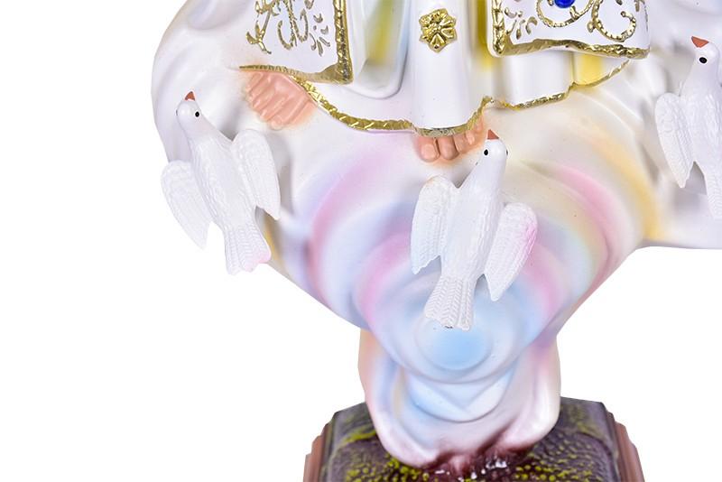 Imagem Nossa Senhora de Fátima Fibra 45cm