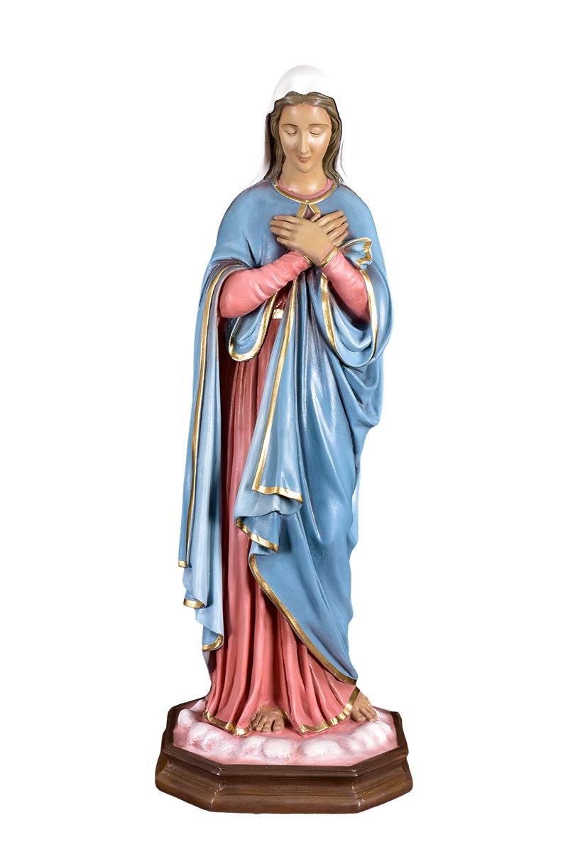 Imagem Nossa Senhora do Silêncio Fibra 80 cm