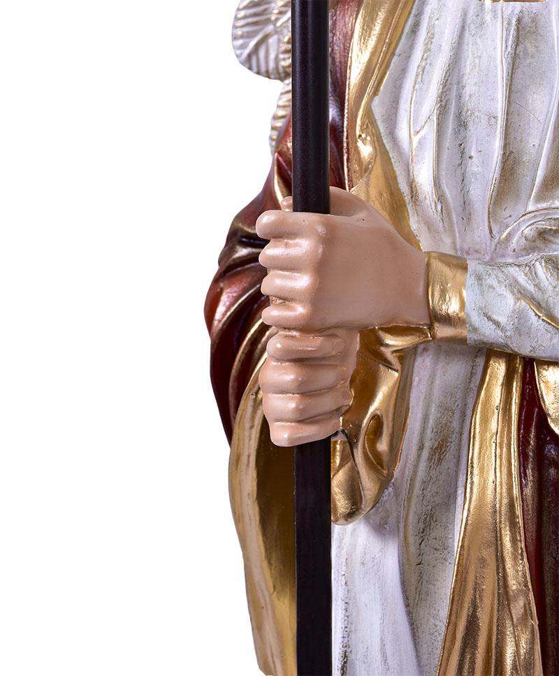 Imagem Par de Anjos Candelabro Resina 115 cm