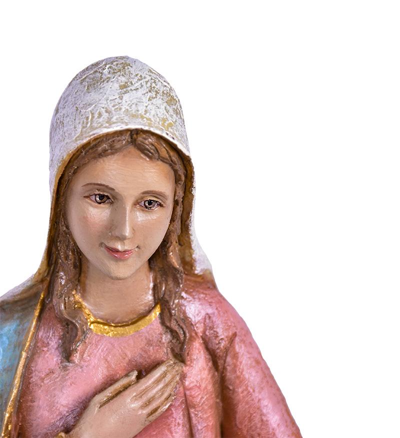 Imagem Sagrada Família Fibra 35cm