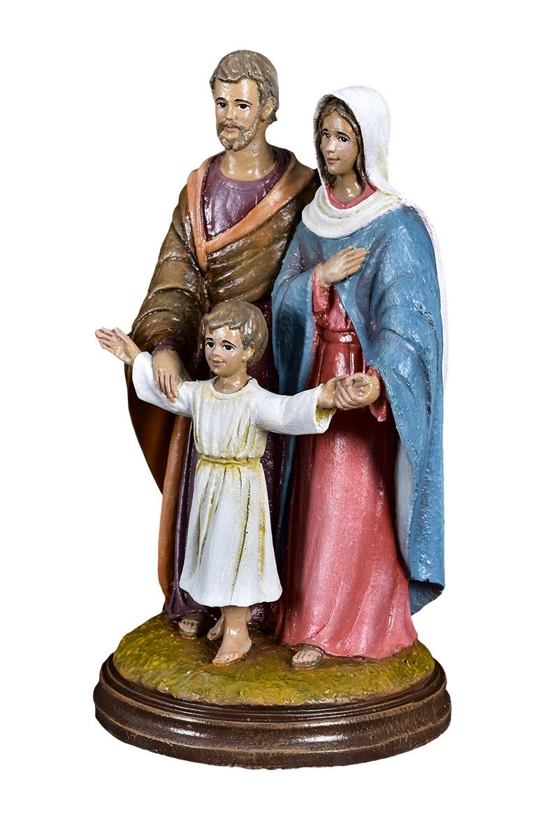 Imagem Sagrada Família Fibra 4065 25 cm