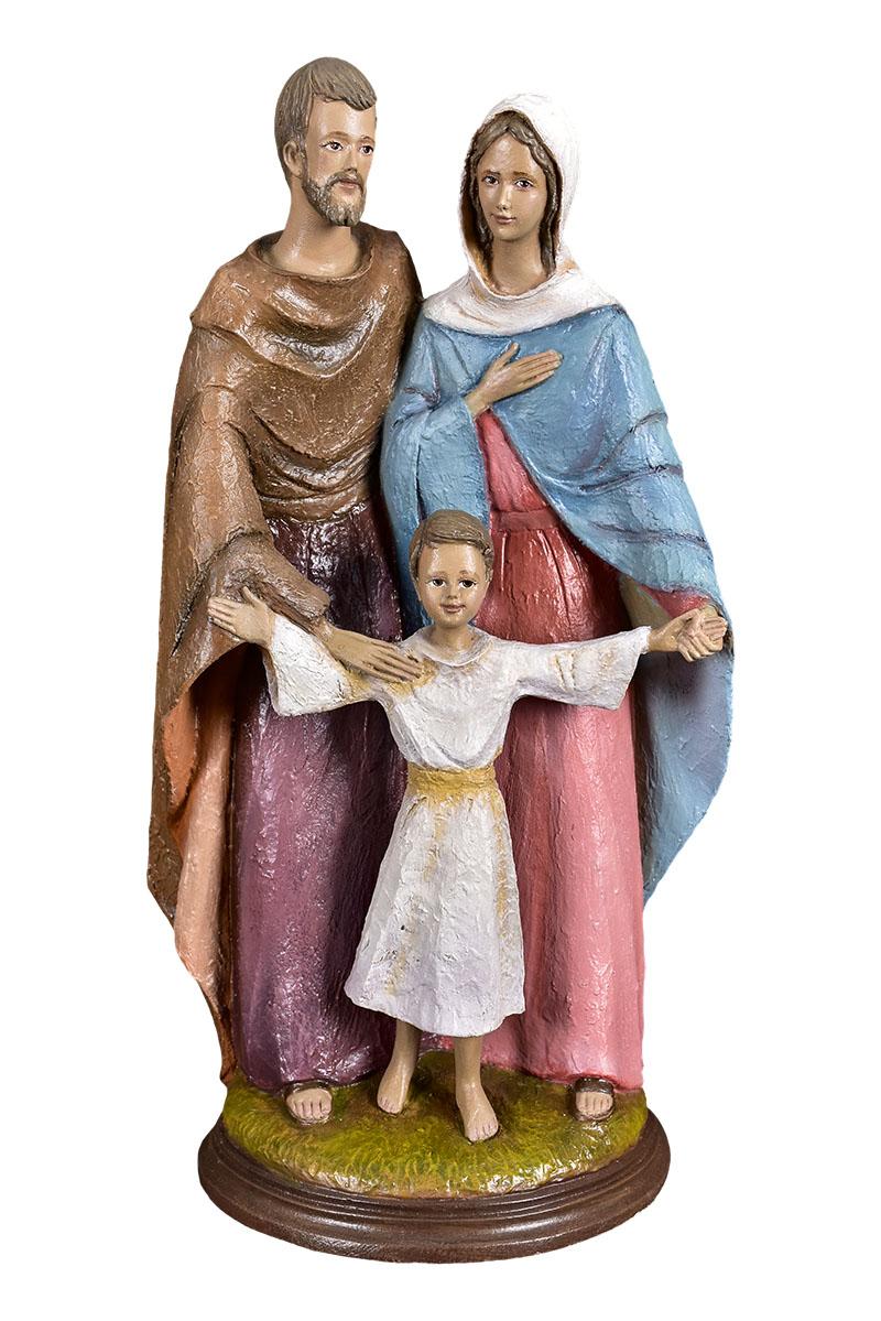 Imagem Sagrada Família Fibra 4163 40cm