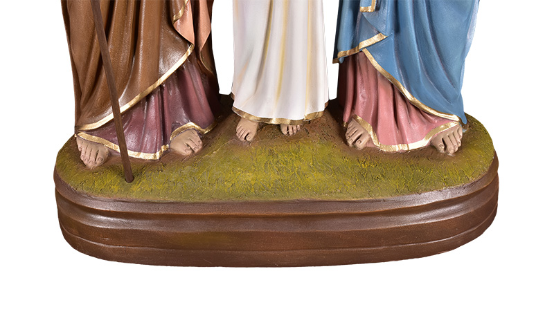 Imagem Sagrada Família Fibra 90 cm