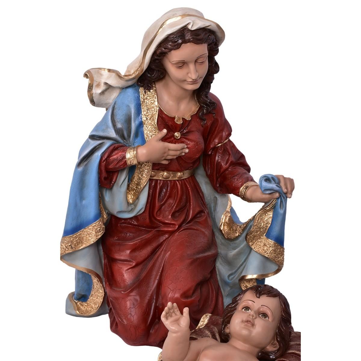 Imagem Sagrada Família Natal Resina 100cm