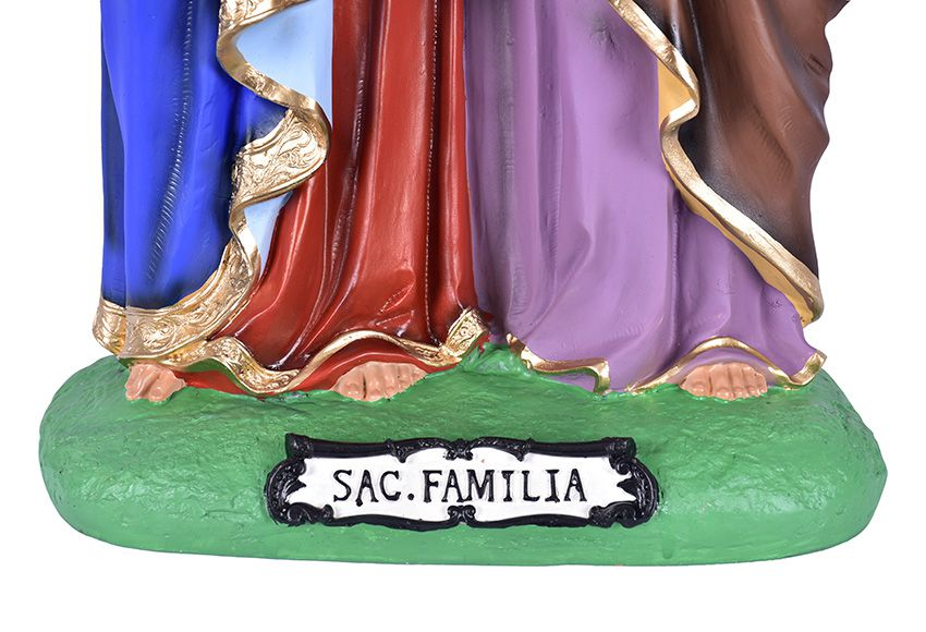 Imagem Sagrada Família Resina 70 cm